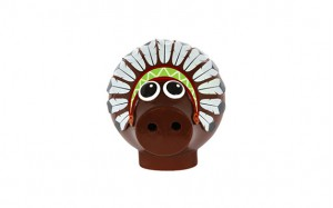 Cochon Indien garni chocolat noir
