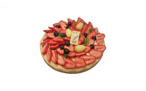 Moelleux à la fraise