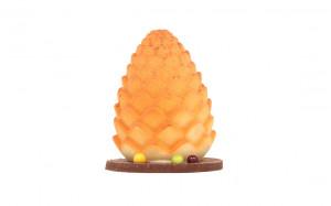 Pomme de pin - chocolat blanc